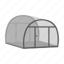 crop, farm, garden, greenhouse, plant, shelter, vegetable icon