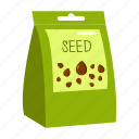 plant, garden, package, farm, packing, seeds, kitchen icon