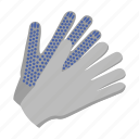 attribute, equipment, farm, glove, hand, protection, security icon