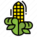 cereal, corn, farm, food, vegetables icon