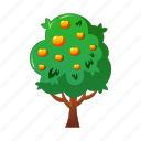 agriculture, apple, farm, tree, vegetable garden icon