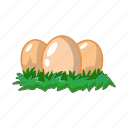agriculture, egg, farm, vegetable garden icon
