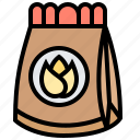 bag, grain, planting, sack, seed icon
