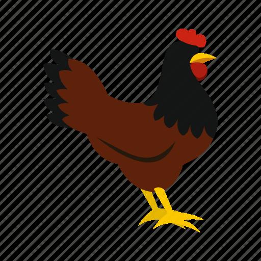 Agriculture, animal, beak, bird, body, breast, hen icon - Download on Iconfinder
