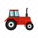 agriculture, equipment, farm, machinery, power, tractor, vehicle icon