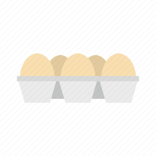 carton, cooking, egg, food, healthy, organic, package icon