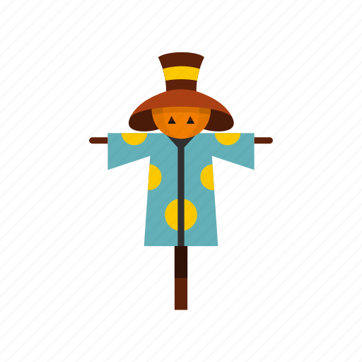 agriculture, farming, halloween, hat, hay, scarecrow, straw icon