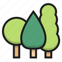farm, forest, pine, tree icon