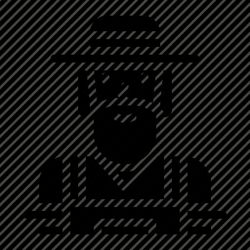 avatar, cowboy, farm, farmer, people icon