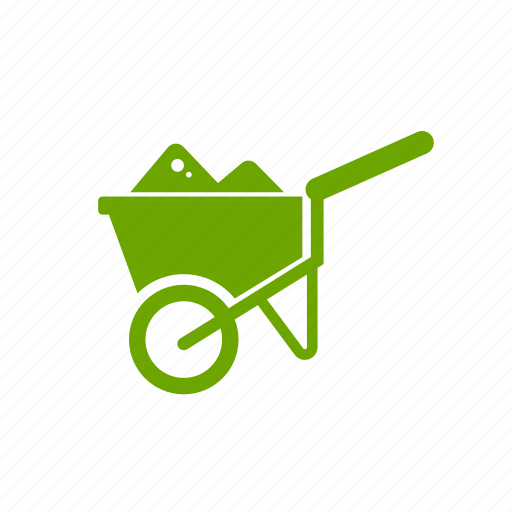 carriage, cart, farm, garden, ranch, tool, trolley icon