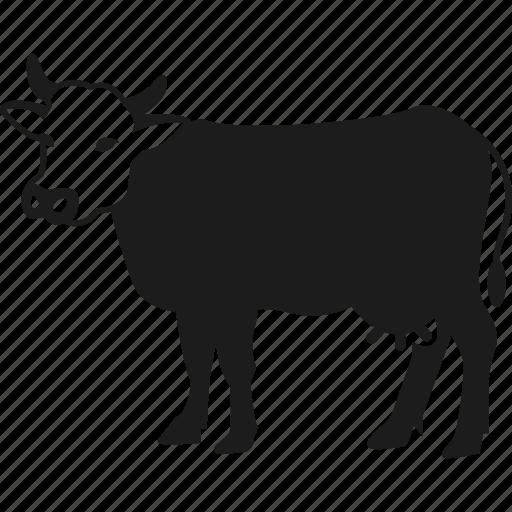 animal, cow, farm, farm animal icon