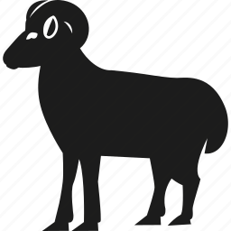 animal, farm, farm animal, ram icon