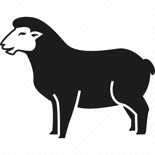 animal, farm, farm animal, sheep icon