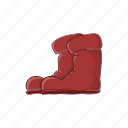 boots, cartoon, design, foot, footwear, illustration, sign icon