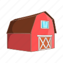 animal, animals, barn, cartoon, farm, gate, sign icon