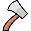 adz, adze, ax, axe, copper, hatchet icon