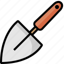 hoe, scoop, shovel, spade, tiny, tiny shovel, trowel icon