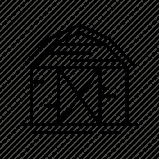 agriculture, barn, barn house, farm, farm house, house icon