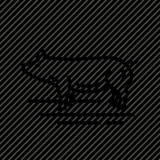 Animal, farm, meat, pig, pork icon - Download on Iconfinder
