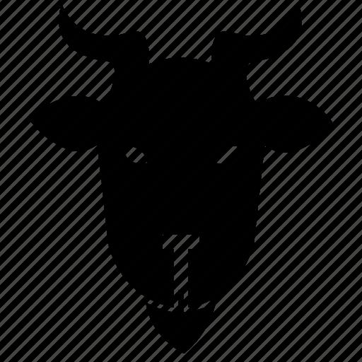 Animal, farming, goat, goats, mutton, ram animal, sheep icon - Download on Iconfinder