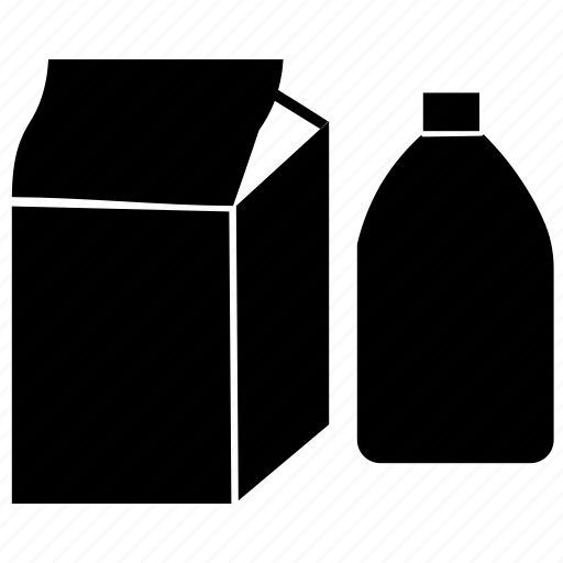 Fresh milk, milk, milk bottle, milk box, milk carton, milk container icon - Download on Iconfinder