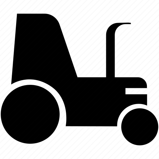 Agricultural tractor, tractor, transportation, vehicle icon - Download on Iconfinder