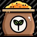 bag, farming, garden, organic, seed