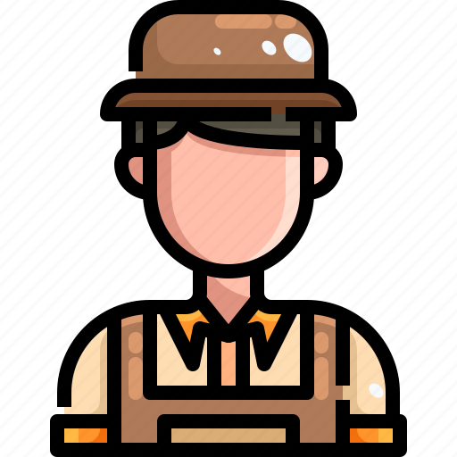 Avatar, farm, farmer, farming, gardener, male, people icon - Download on Iconfinder
