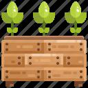 enviroment, farming, gardening, growing, leaf, plant icon