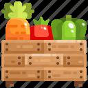 farm, farming, food, harvest, healthy, ingredient, vegetable icon