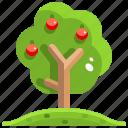 apple, botanical, fruit, garden, gardening, tree, yard icon