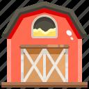 barn, buildings, farm, farming, gardening icon