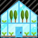 buildings, ecological, environment, farming, green, house icon