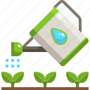 growth, plant, plants, sprout, watering icon