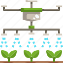 drone, farm, farming, growing, irrigation, seed, smart icon
