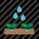 agriculture, farm, farming, garden, growth, nature, plant icon