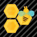 bee, farming, hive, honey, sweet
