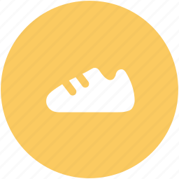 athletic shoes, footwear, gym shoes, outdoor shoes, running shoes, sneaker icon