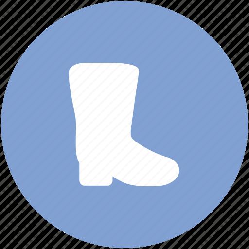 footwear, gardening shoes, gumboot, rain shoes, waterproof shoes, wellington boot icon