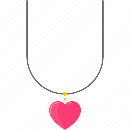 Accessory, gem, heart, jewelry, love, necklace, wedding icon - Download on Iconfinder