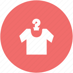 clothes, clothing, garment, half sleeves, shirt on hanger, sports wear, tee shirt icon