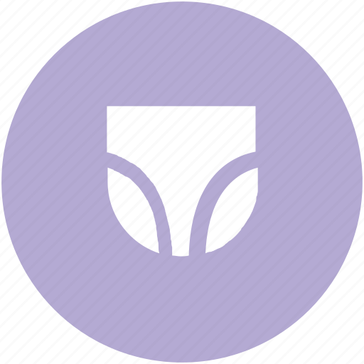 Pantie, skivvies, underclothes, undergarments, underpants, underthings, undies icon - Download on Iconfinder