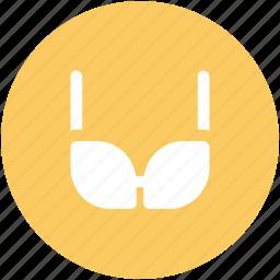 bra, brassiere, clubwear bra, fashion, hot, ladies undergarment, sexy, undergarment icon