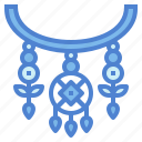 accessory, cultures, jewelry, necklace icon