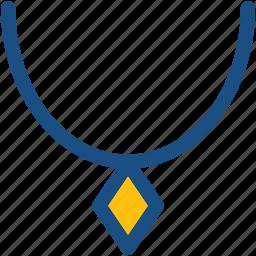 fashion, fashion accessory, jewellery, necklace, pendant icon