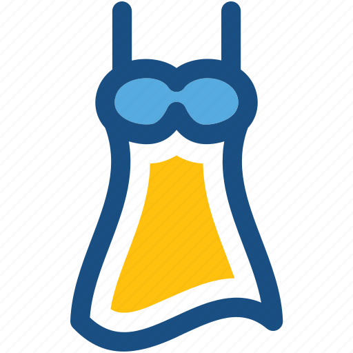 clothing, fashion, party dress, sundress, woman dress icon