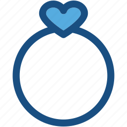 accessory, fashion, heart ring, ring, valentine ring icon