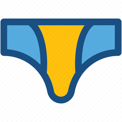 boxers, briefs, thong, underpants, underwear icon
