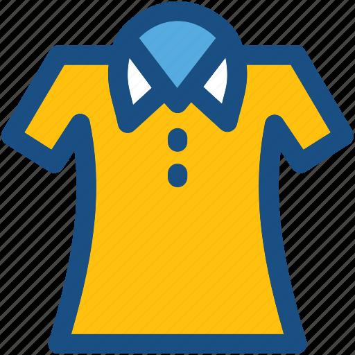 clothes, golf shirt, polo shirt, t shirt, tee icon