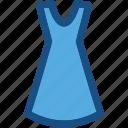 clothing, fashion, short dress, sundress, woman dress icon